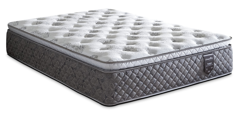 Springwall Chiropractic® Twilight Pillow-Top Luxury Firm Queen Mattress