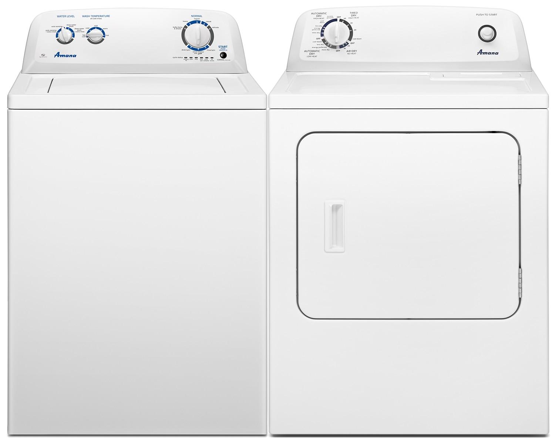 Amana Laundry - NTW4516FW/YNED4655EW