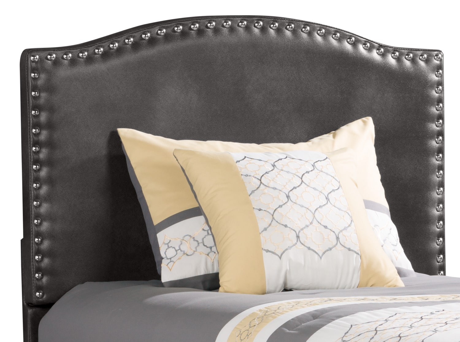 Bedroom Furniture - Benjamin Twin Headboard – Aged Grey
