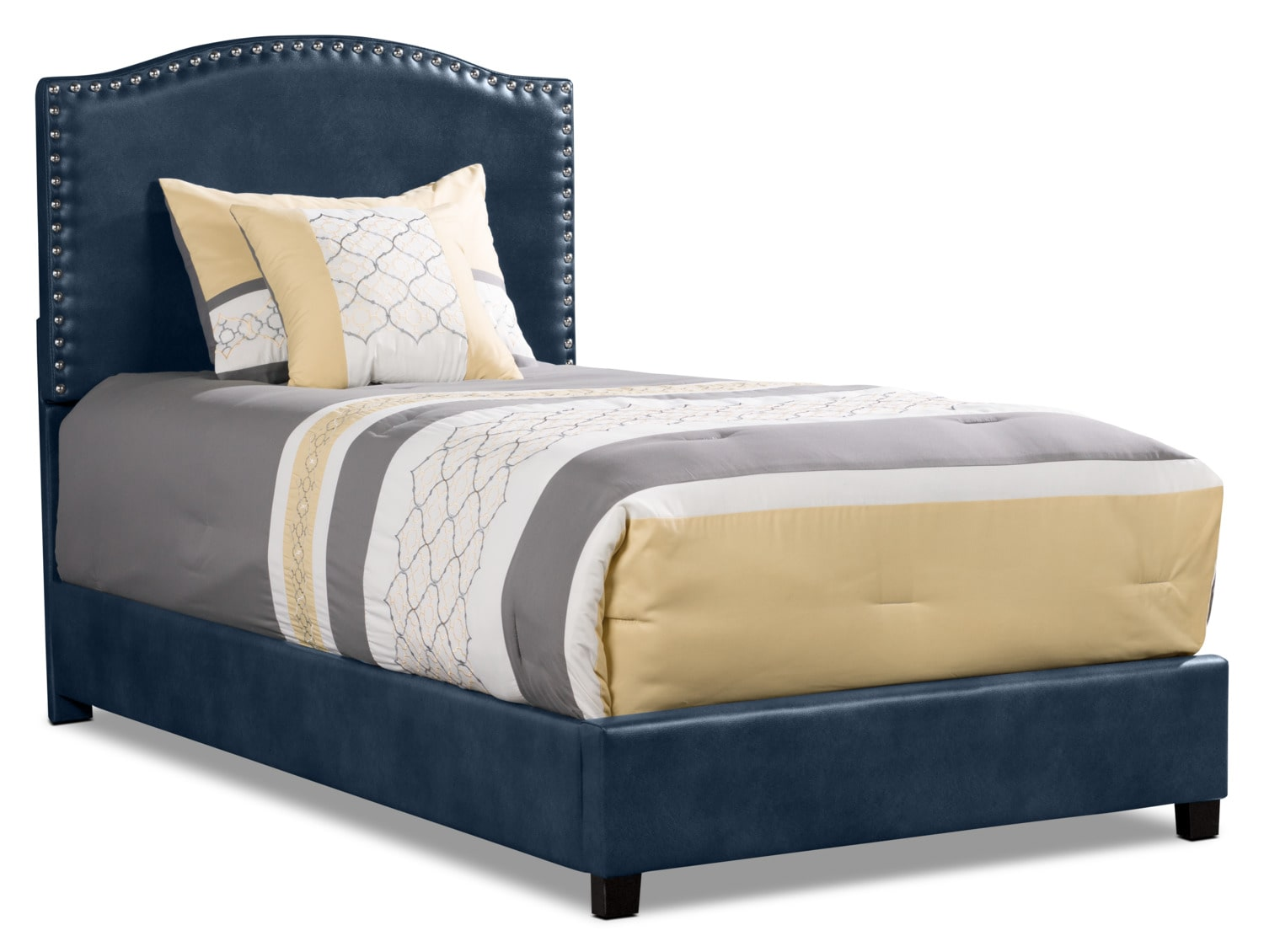 Benjamin Twin Bed - Navy