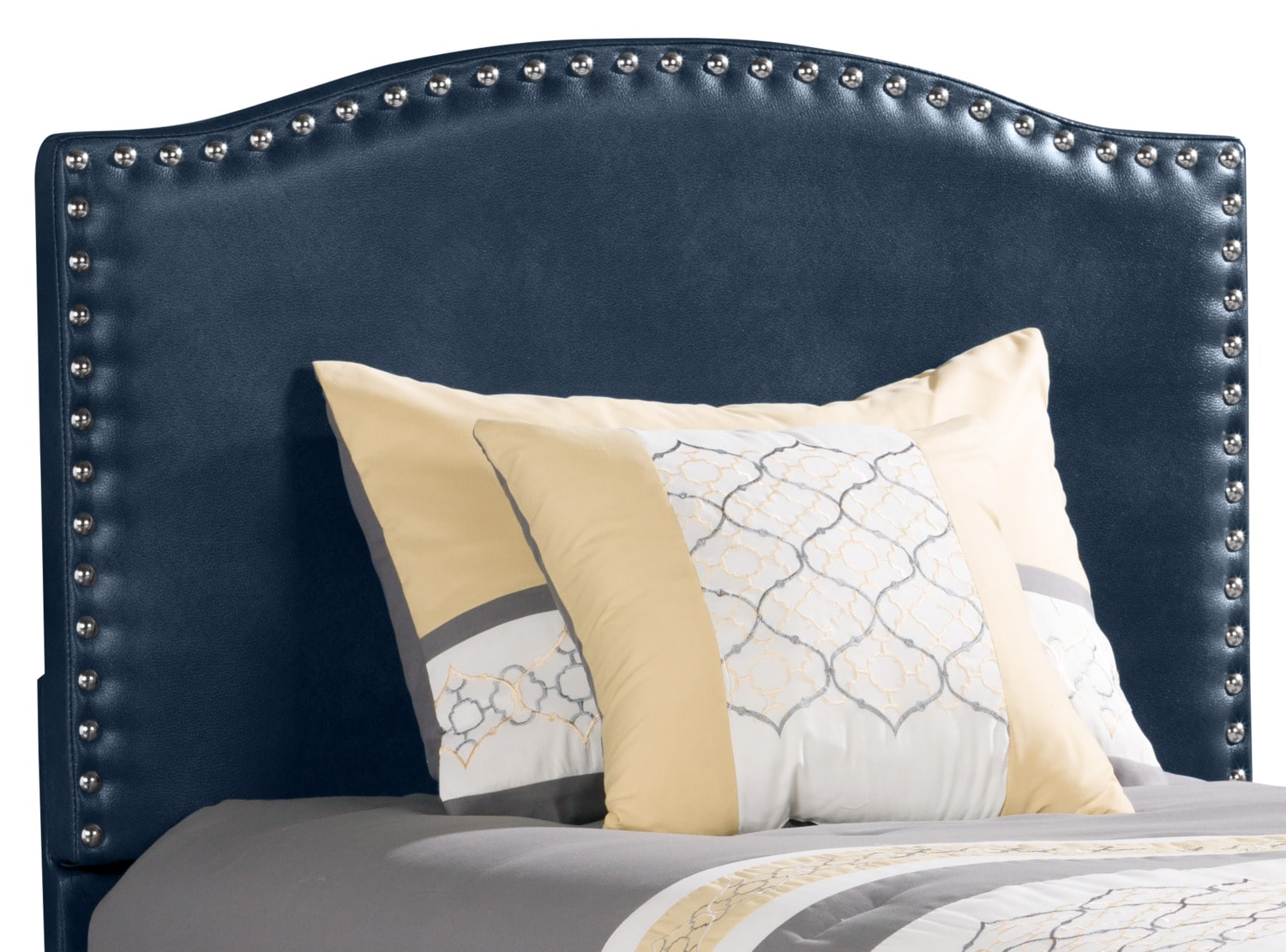Benjamin Twin Headboard – Navy