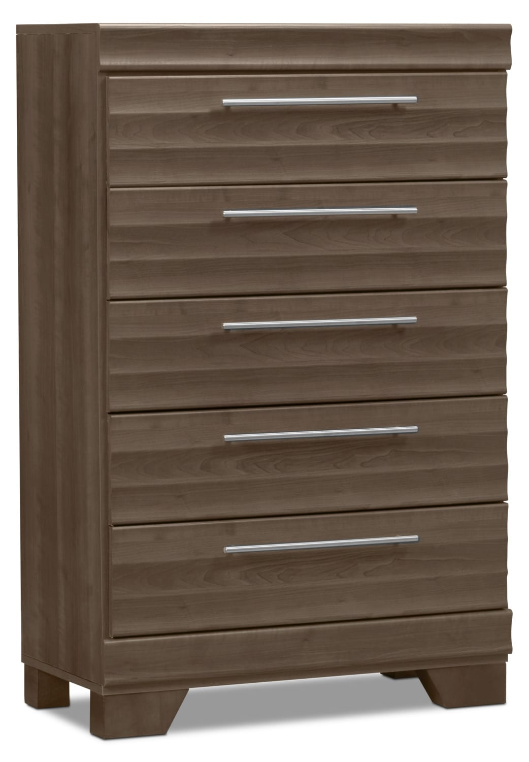 Bedroom Furniture - Olivia Chest – Grey