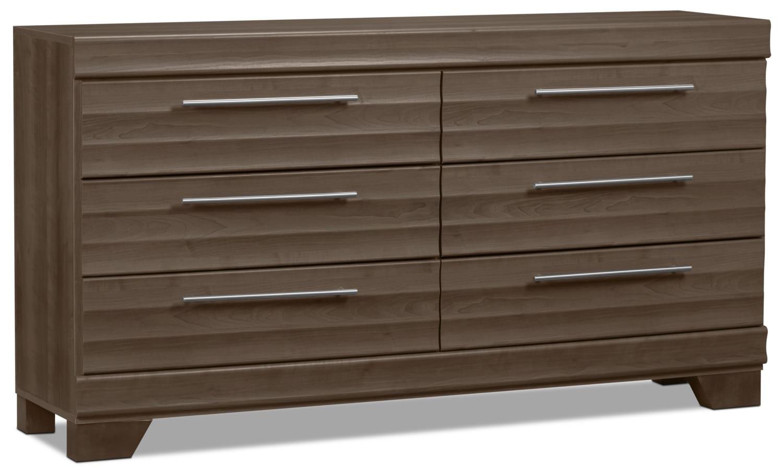 Bedroom Furniture - Olivia Dresser - Grey