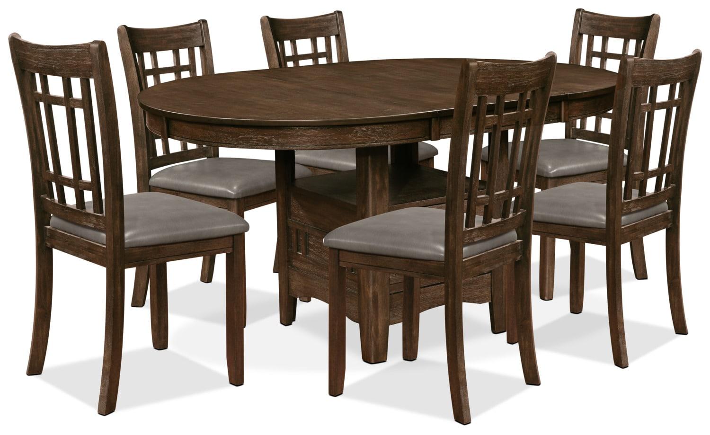 Salle à manger - Ensemble de salle à manger Dana 7 pièces