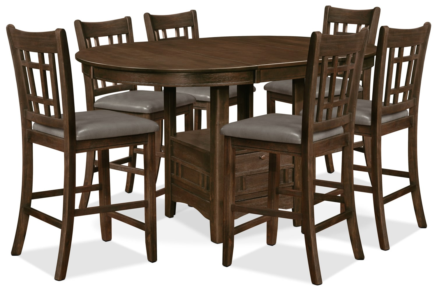Dana 7-Piece Counter-Height Dining Package
