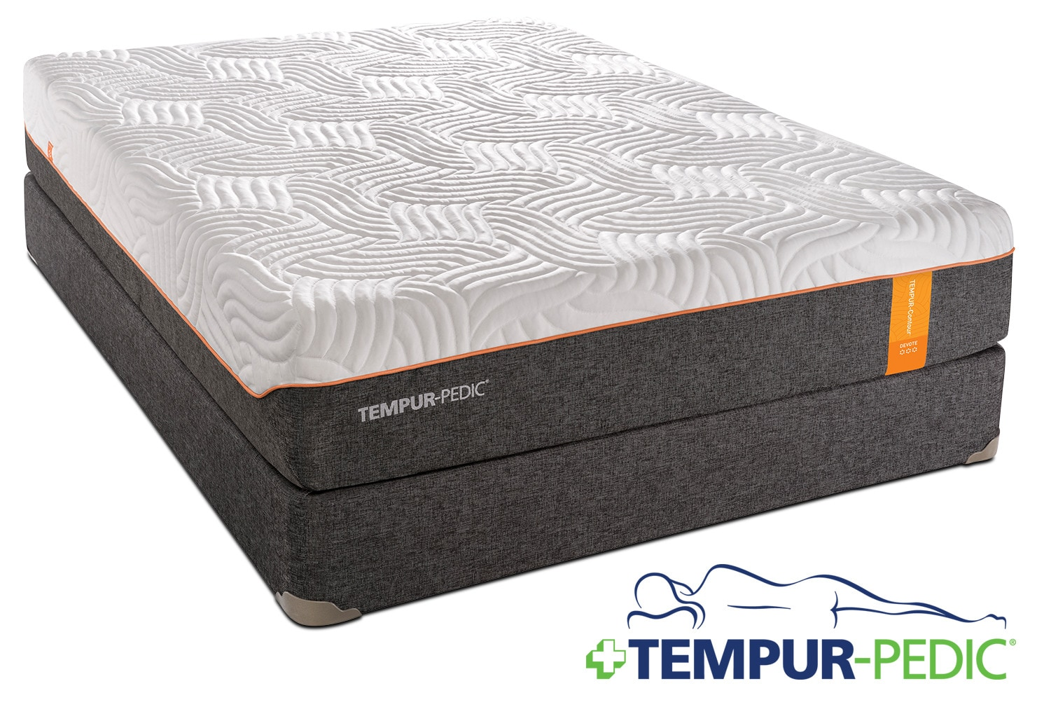 Tempur-Pedic Devote Firm Queen Mattress and Boxspring Set