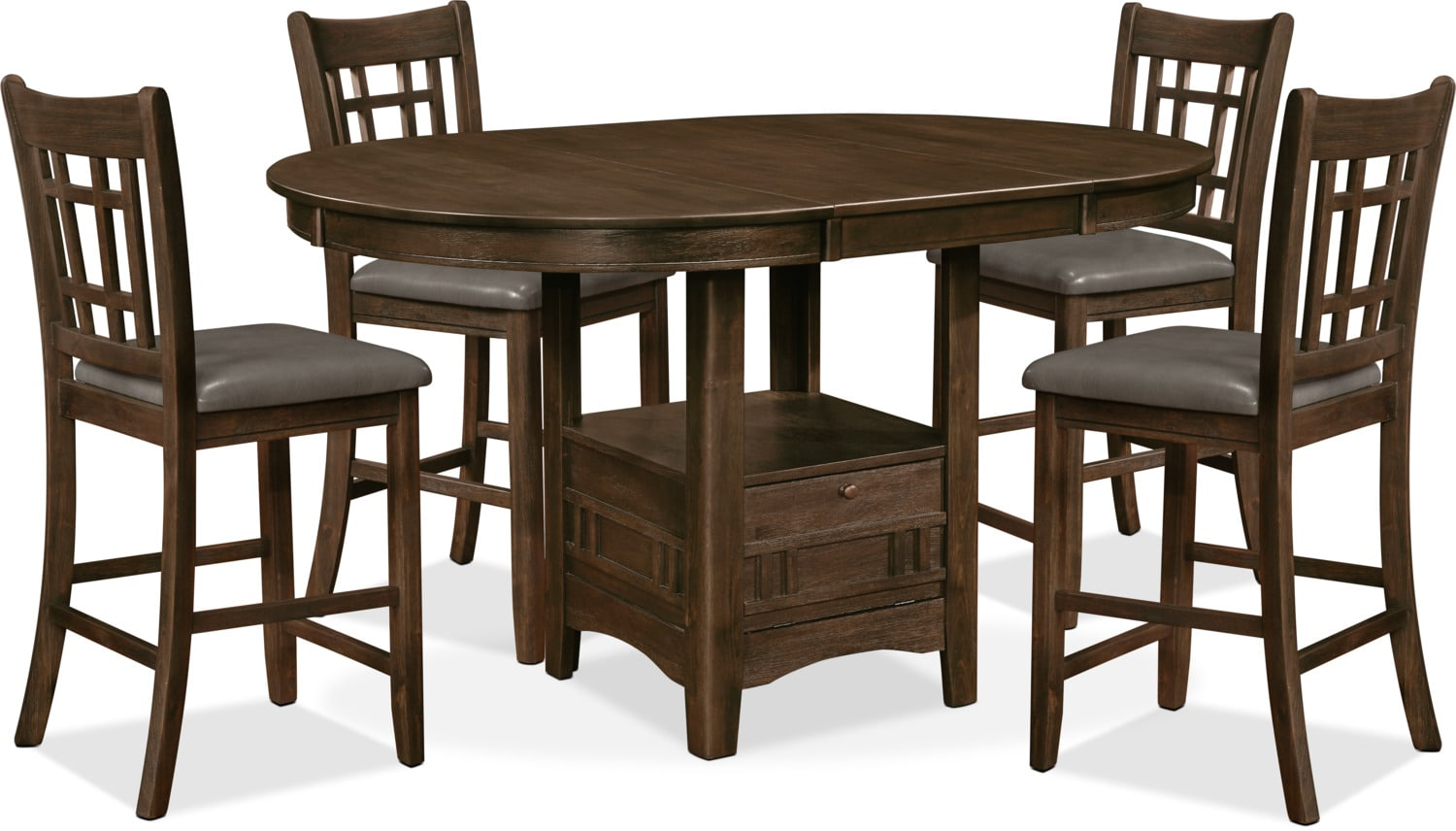 Dana 5-Piece Counter-Height Dining Package