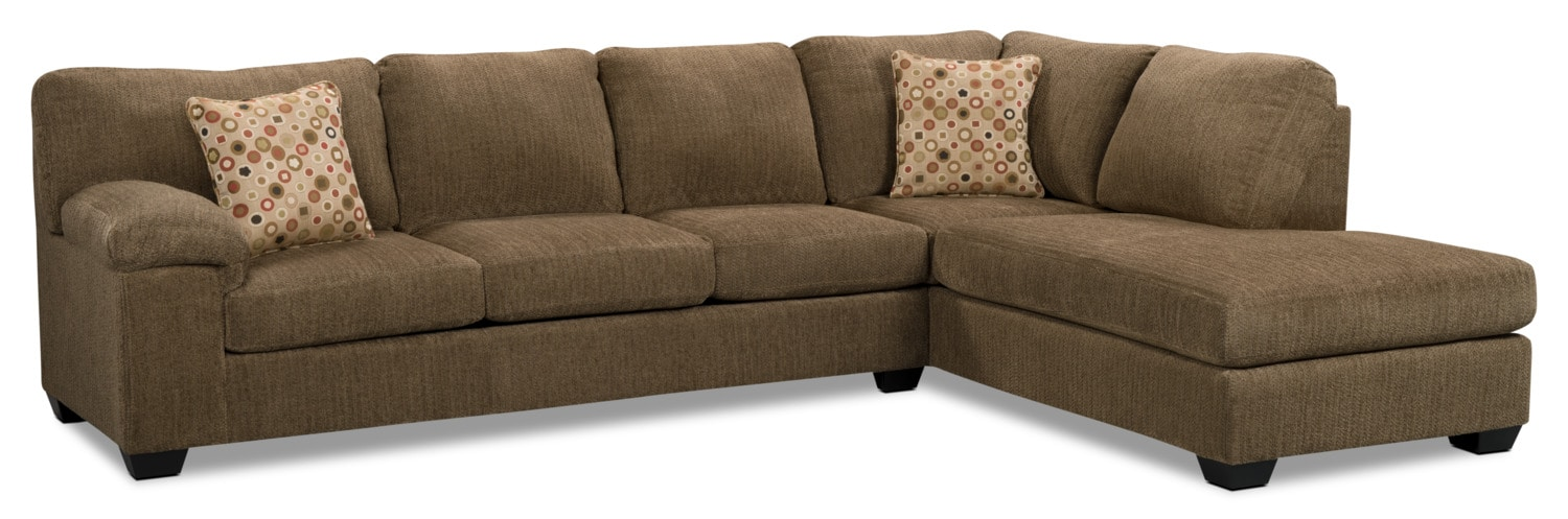 living room sets with sleeper sofa morty chenille sofa bed sectional with right chaise 25030