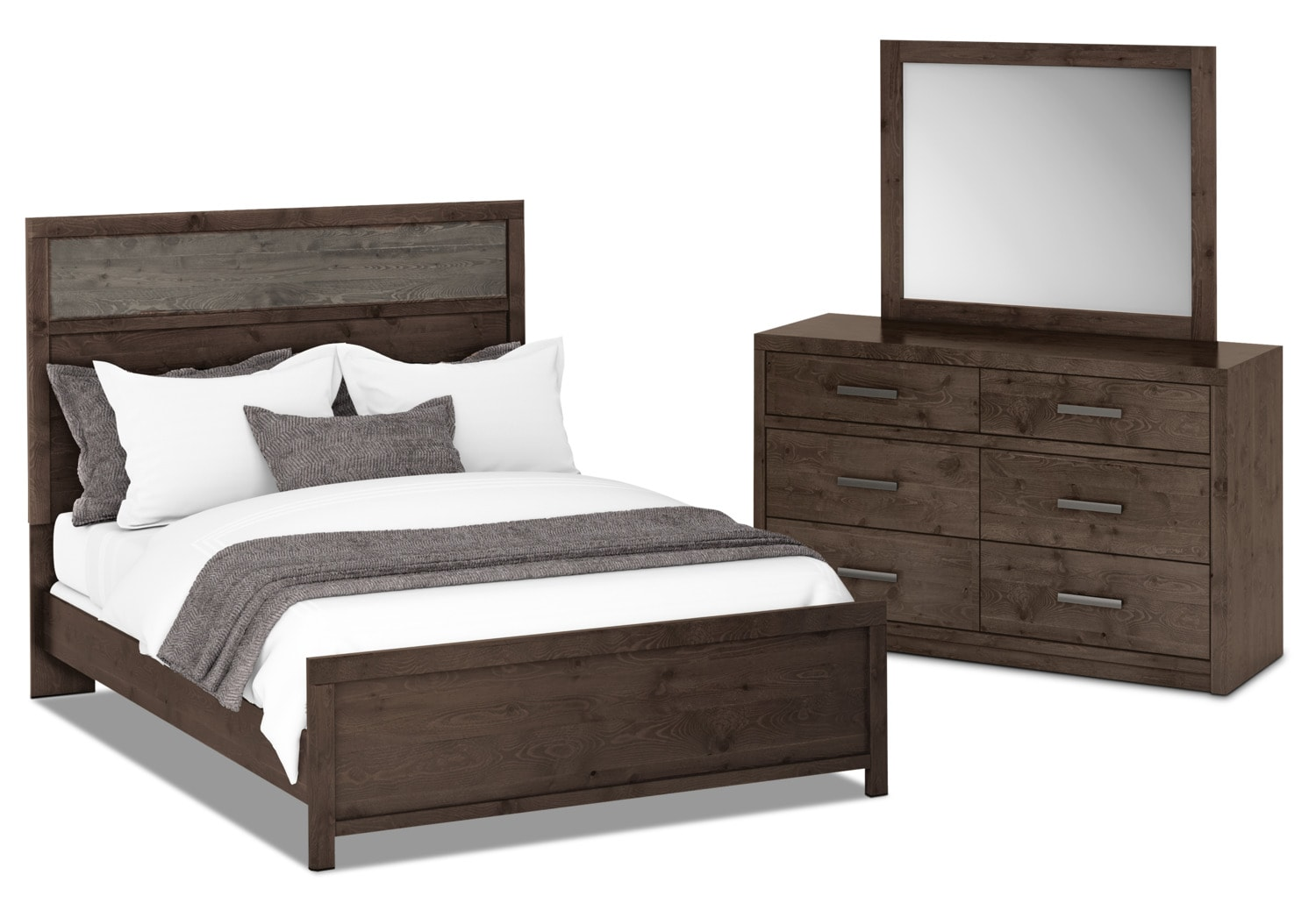 Bedroom Furniture - Onyx 5-Piece Queen Bedroom Package