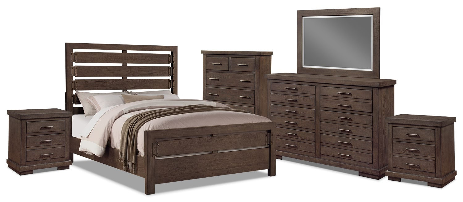 Revolution 8-Piece Queen Bedroom Package