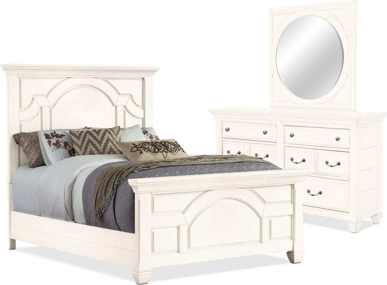 Bedroom Furniture - Hancock Park 5-Piece Queen Bedroom Package