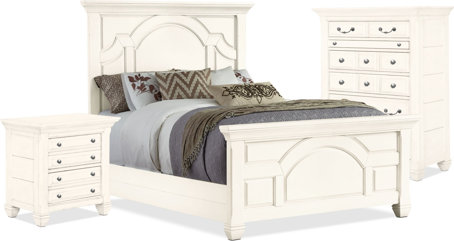Hancock Park 5-Piece King Bedroom Package with Chest and Nightstand