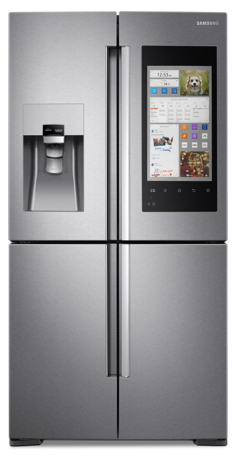 Samsung 22 cu. ft.  4-Door Flex™ with Family Hub™ – RF22M9581SR/AC