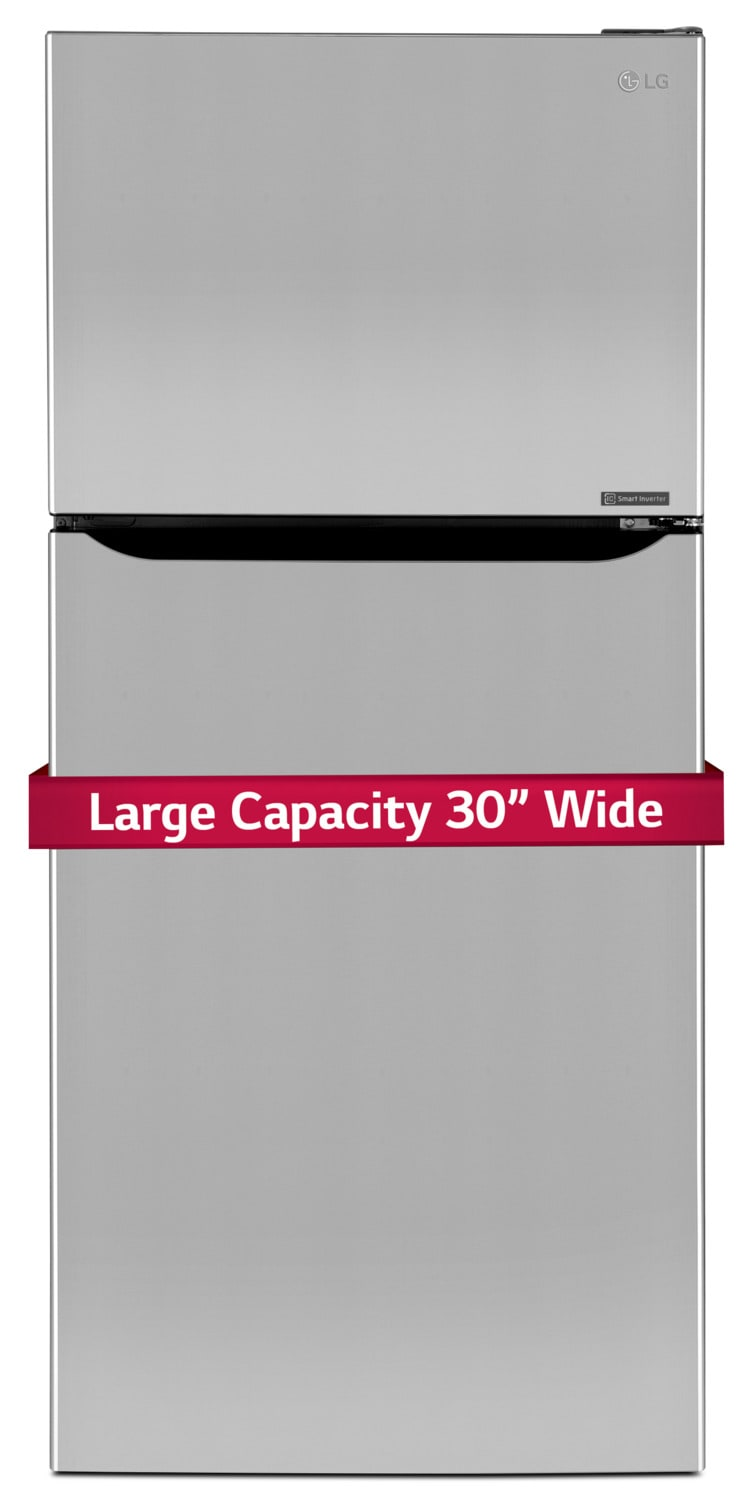 LG Appliances Stainless Steel Top-Freezer Refrigerator (20.2 Cu. Ft.) - LTNS20220S