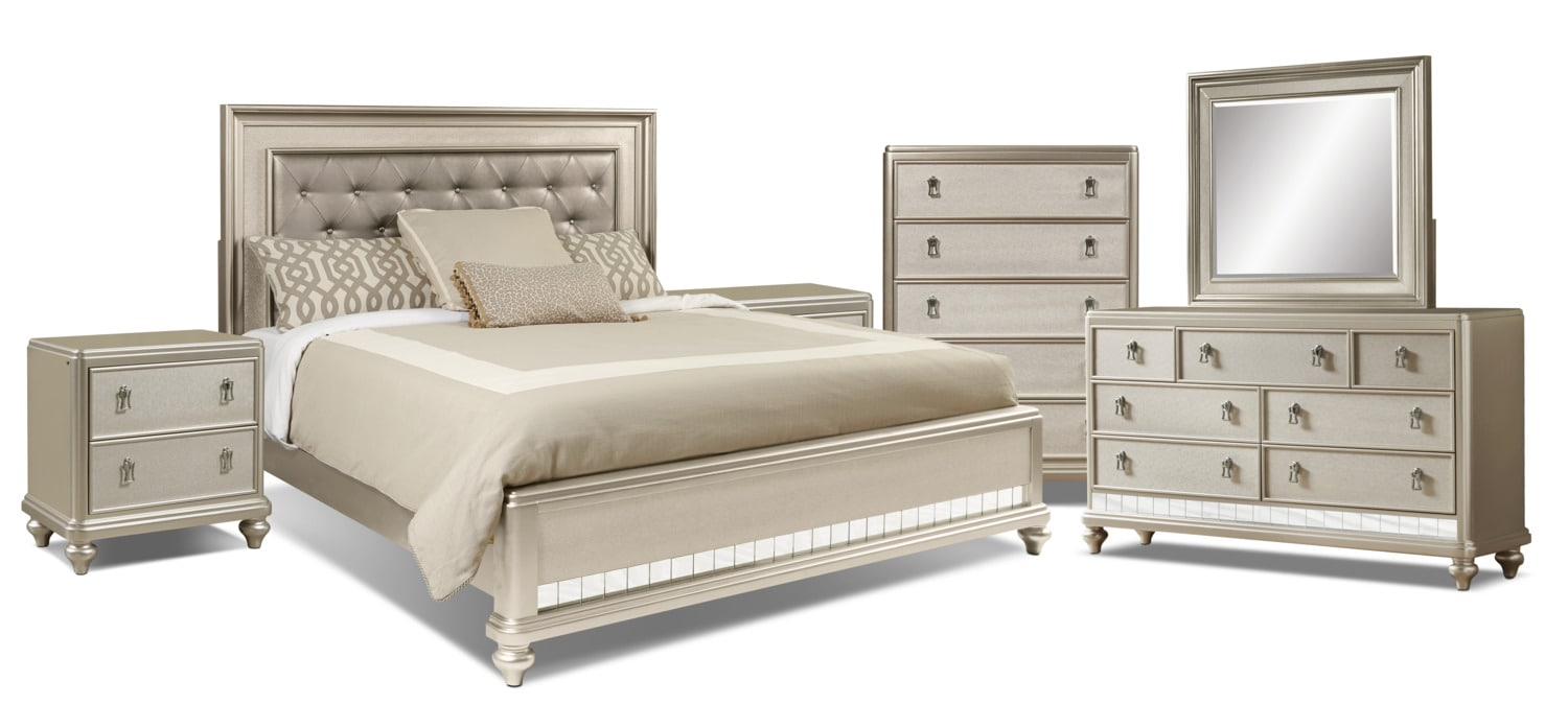 Diva 8-Piece King Bedroom Package