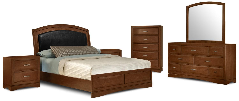 Bedroom Furniture - Beverly 8-Piece Queen Bedroom Set