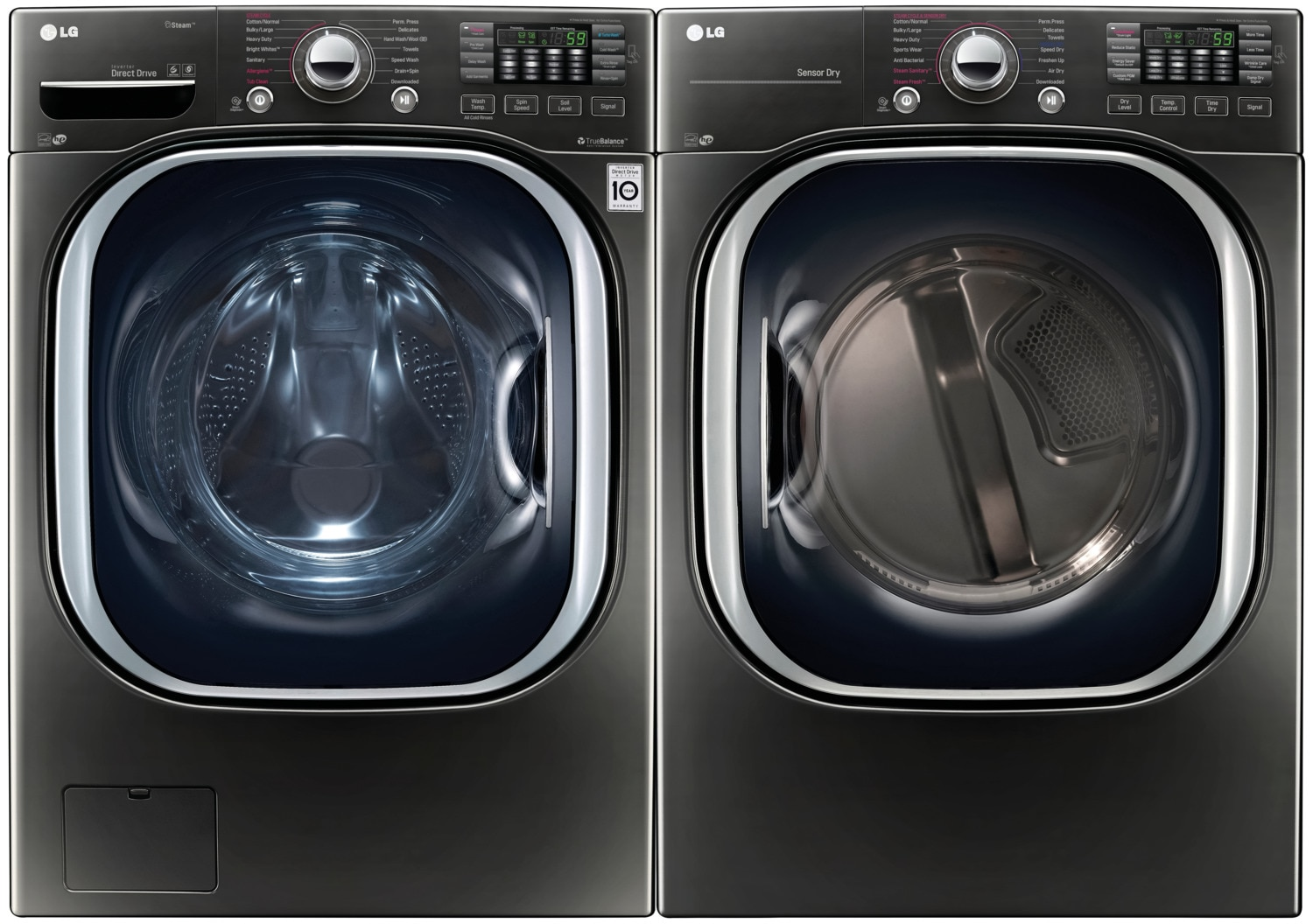 LG Appliances Laundry - WM4370HKA / DLEX4370K