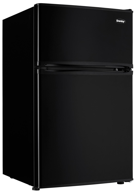 Refrigerators and Freezers - Danby Black Compact Refrigerator (3.2 Cu. Ft.) - DCR032C3BDB