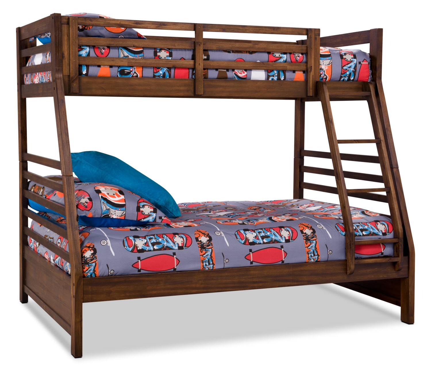 Chadwick Twin/Full Bunk Bed – Rustic