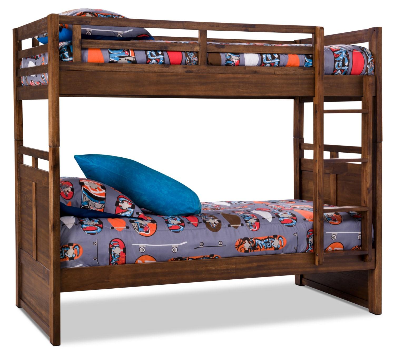 Chadwick Twin/Twin Bunk Bed – Rustic