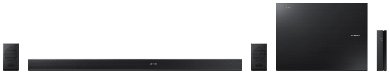 Samsung HW-KM57C 5.1-Channel Soundbar with Wireless Subwoofer and Rear Speakers – 460 W