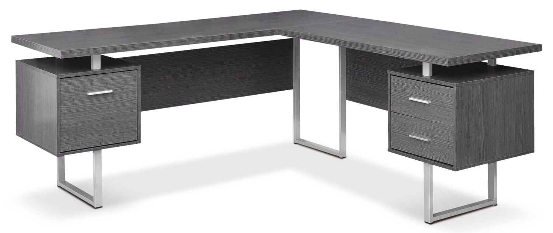 Bowen Corner Desk - Grey