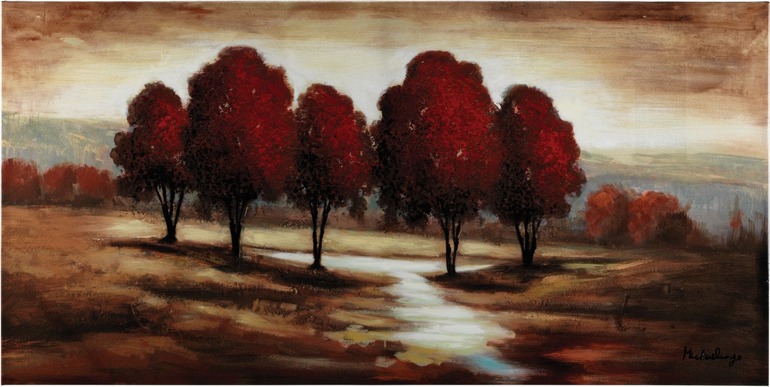 """Accent and Occasional Furniture - Redwood Canvas Art (60"""" x 30"""")"""