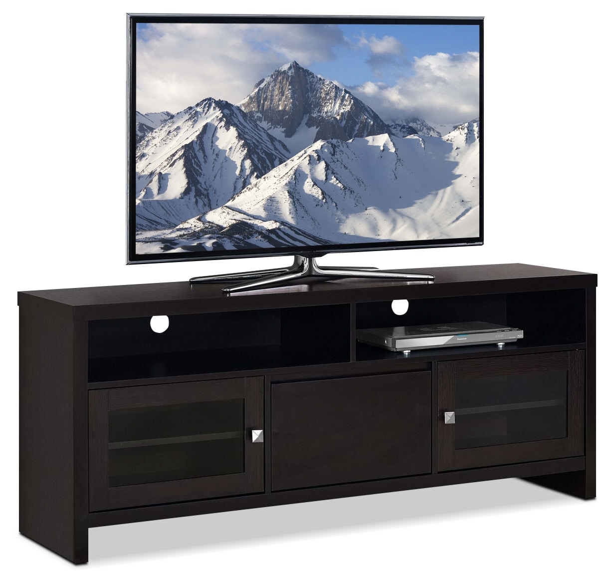 Callery TV Stand - Cappuccino