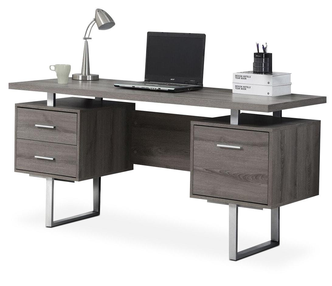 Franco Desk - Dark Taupe