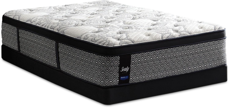 Sealy Posturepedic Ultimate Bloomington Euro-Top Firm Queen Mattress Set