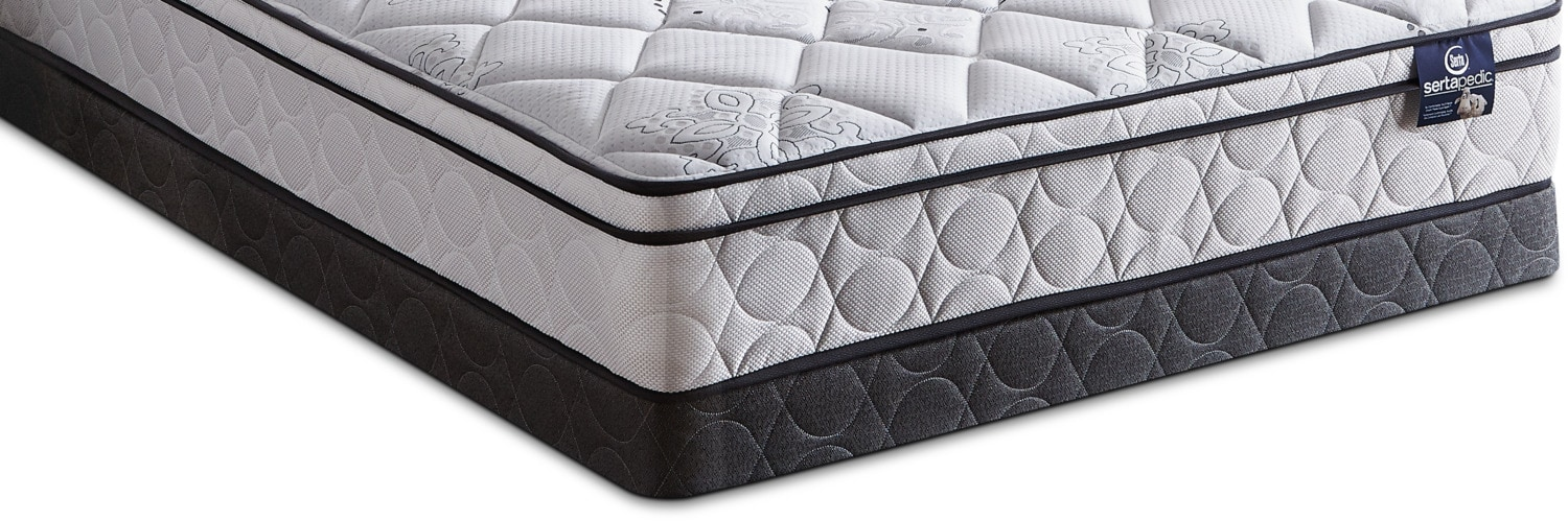 Mattresses and Bedding - Serta Sertapedic 2017 Queen Boxspring