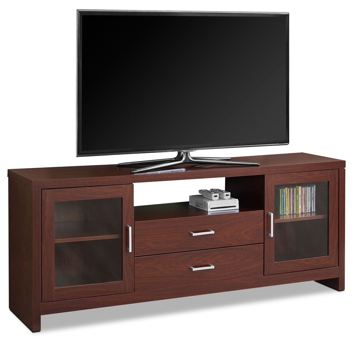 Televisions - Tucker TV Stand - Warm Cherry