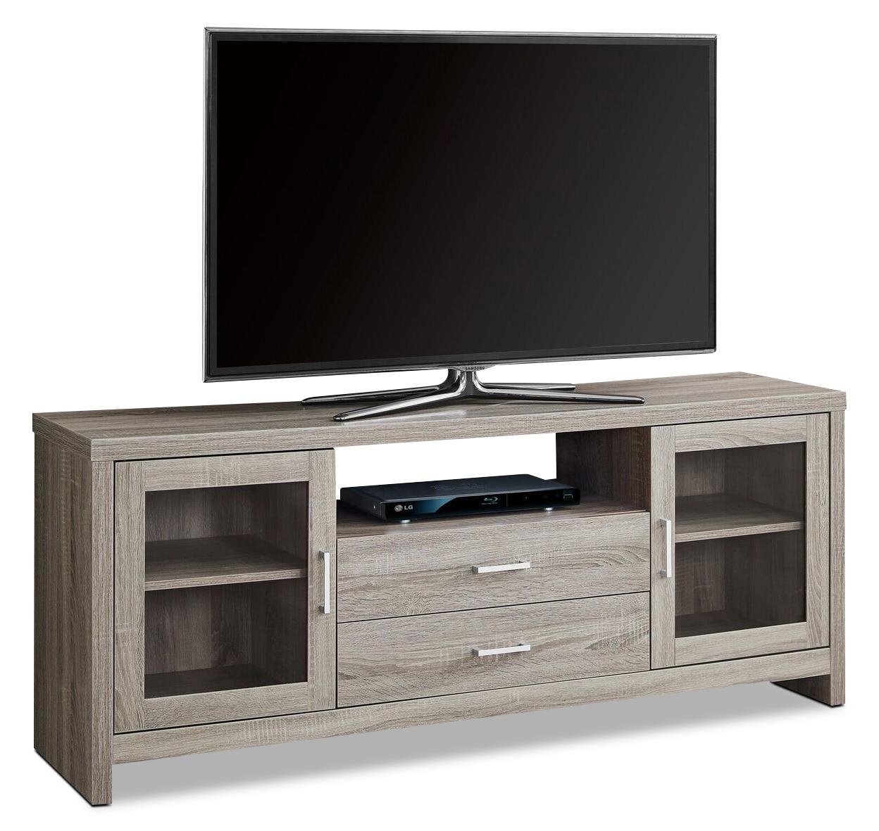 Entertainment Furniture - Tucker TV Stand - Dark Taupe