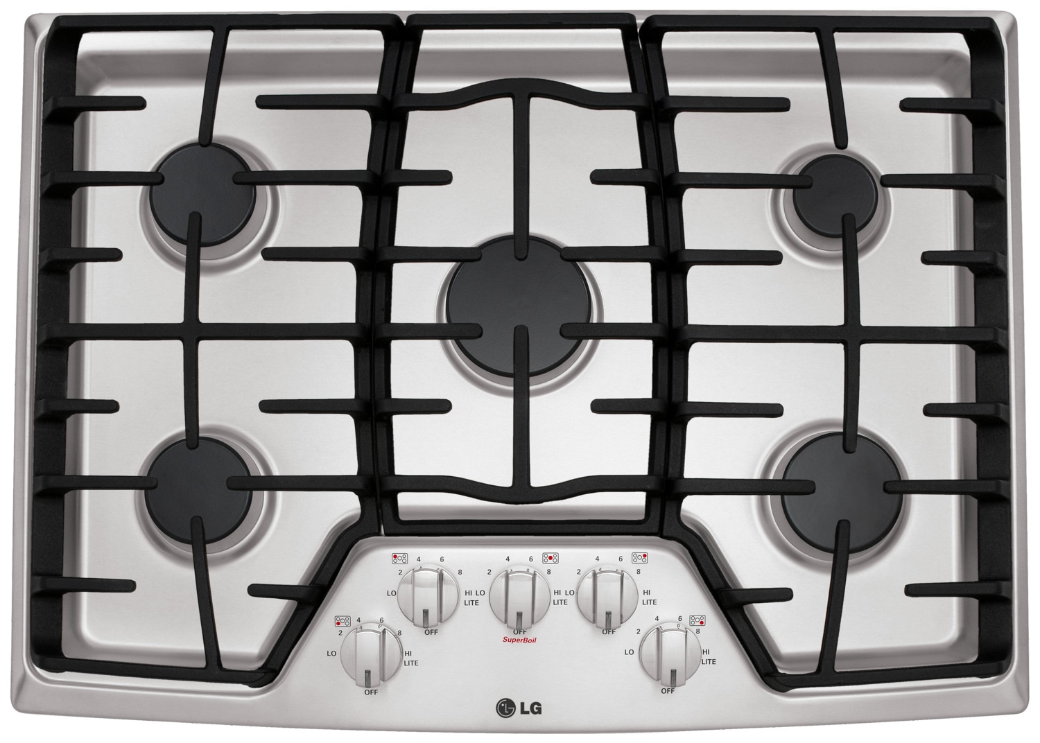 "LG 30"" Gas Cooktop – LCG3011ST"