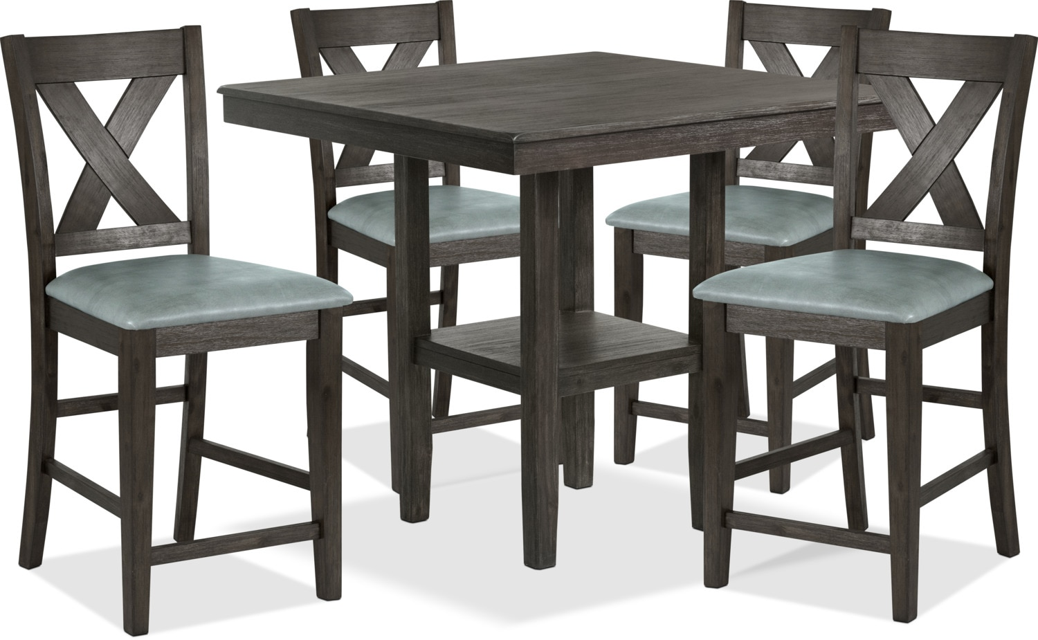 Tribeca 5-Piece Counter-Height Dining Package