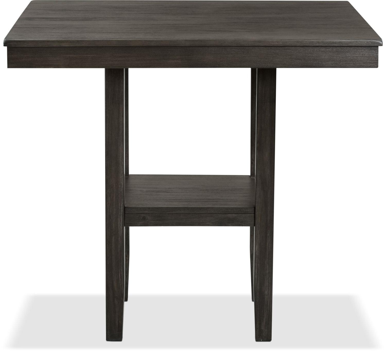Table de salle manger tribeca de hauteur comptoir brick for Hauteur table salle manger standard