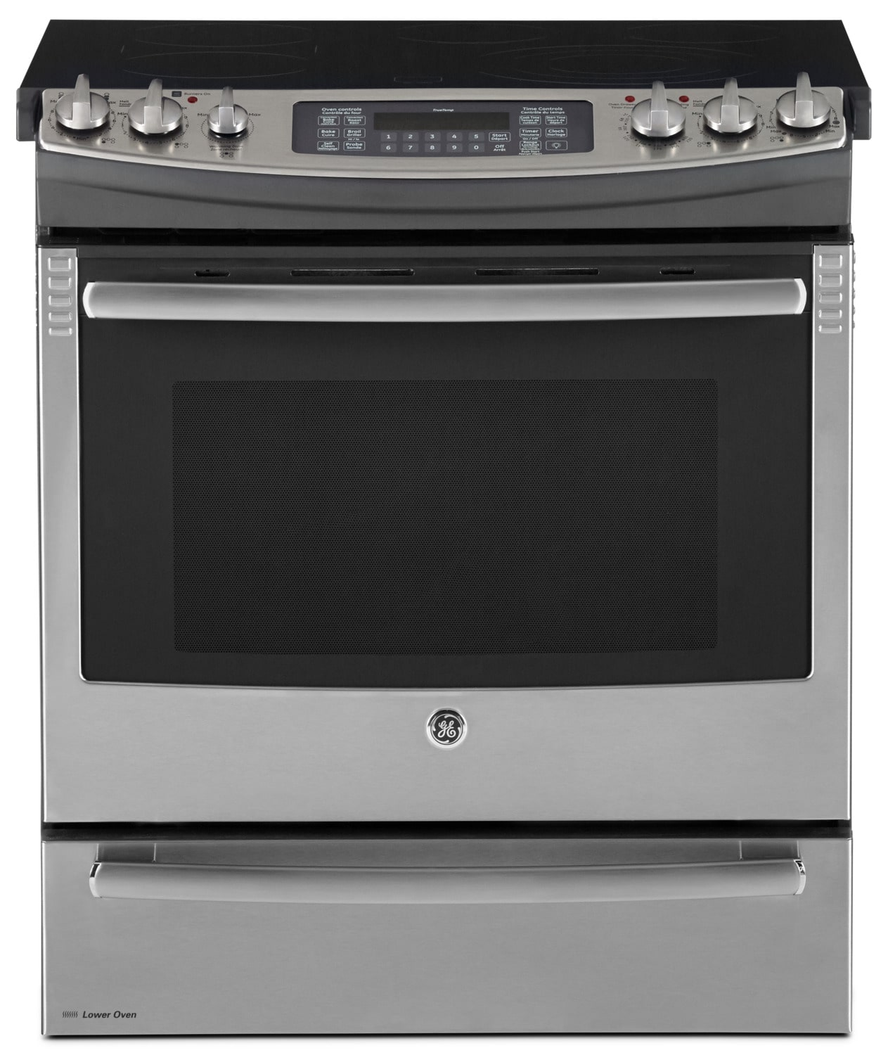 6.6 Cu. Ft. Slide-in Convection Range with Baking Drawer – PCS940SFSS