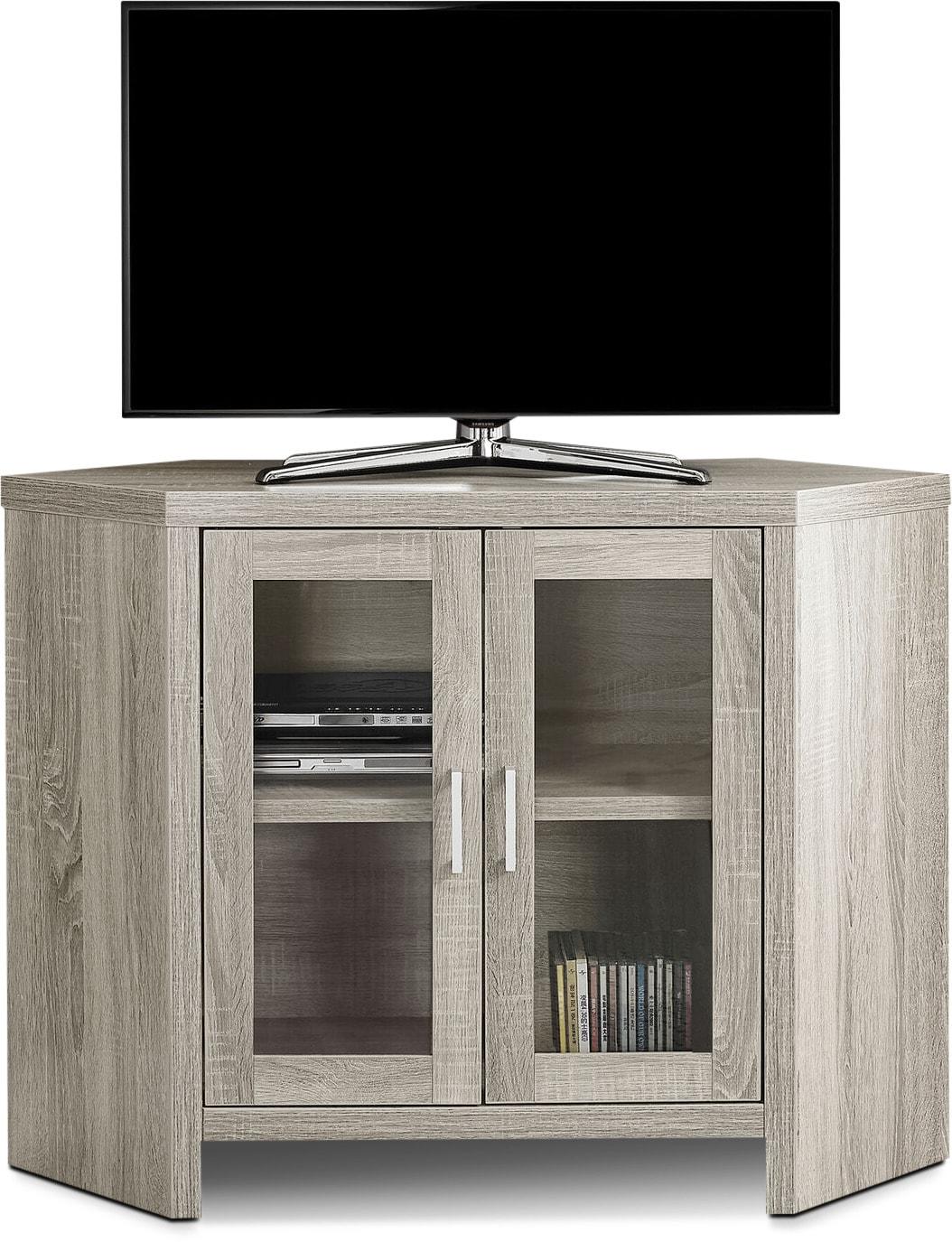 Entertainment Furniture - Sebastian TV Stand - Dark Taupe