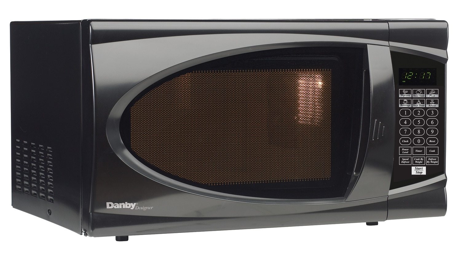 Cooking Products - Danby Black Countertop Microwave (0.7 Cu. Ft.) - DMW799BL