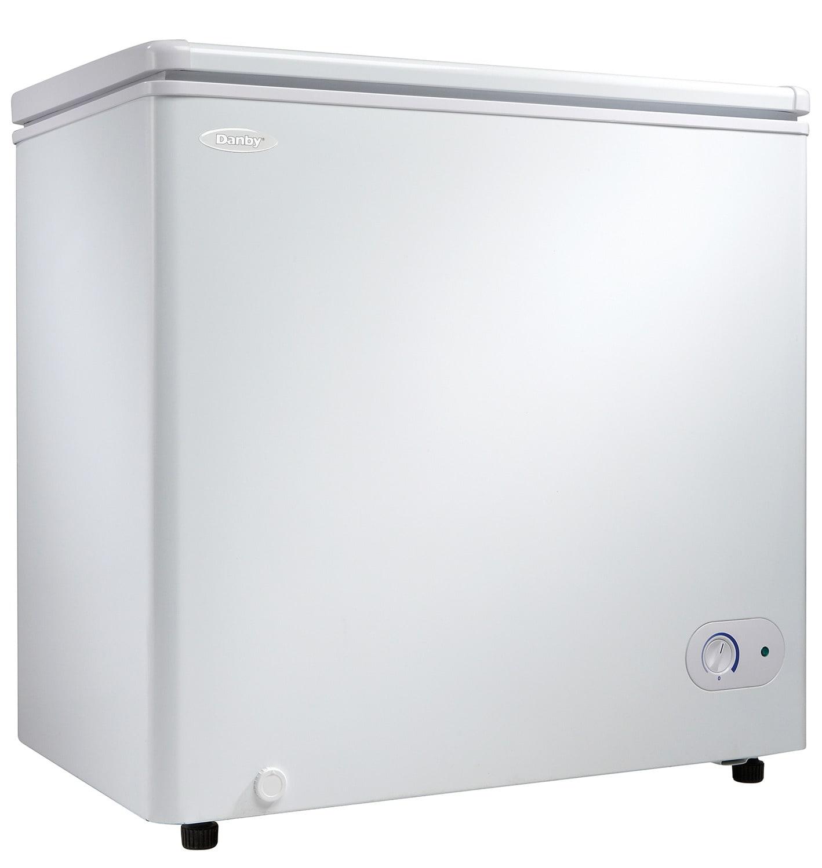 Danby White Chest Freezer (5.5 Cu. Ft.) - DCF055A1WDB1