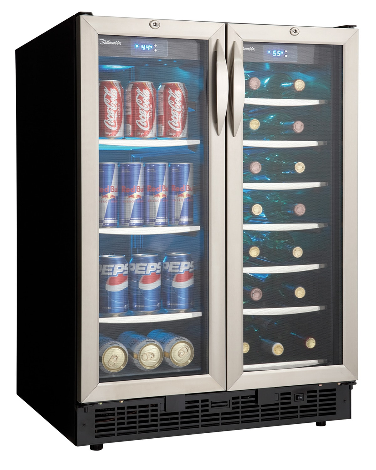 Danby Stainless Steel French Door Beverage Centre (5.1 Cu. Ft.) - DBC2760BLS
