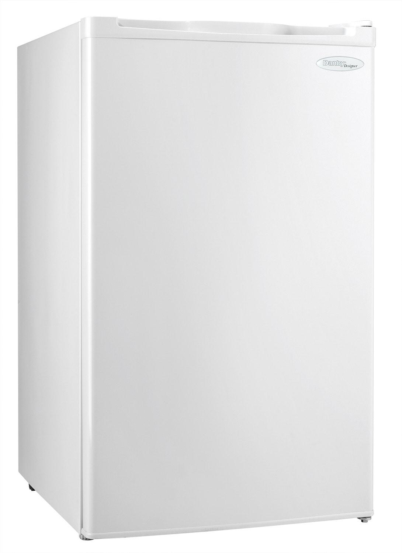Refrigerators and Freezers - Danby White Upright Freezer (2.6 Cu. Ft.) - DUFM026B1WDD