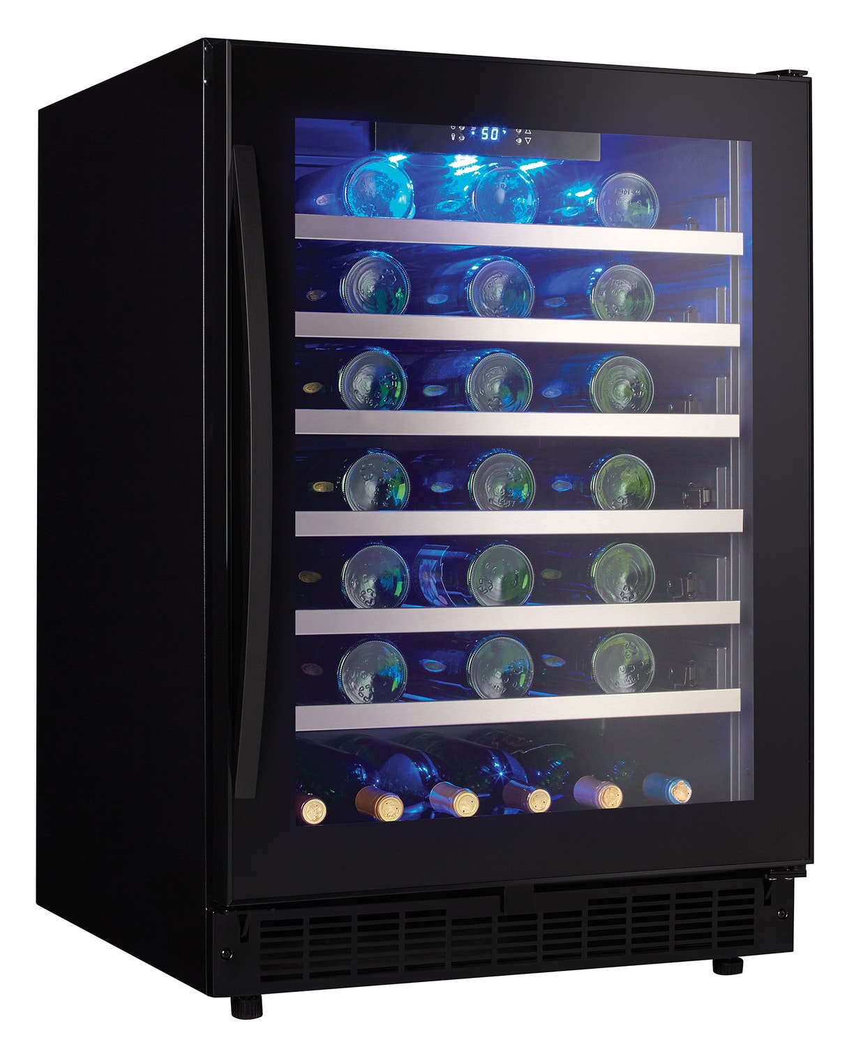Refrigerators and Freezers - Danby Black Wine Cooler (5.6 Cu. Ft.) - SSWC056D1B