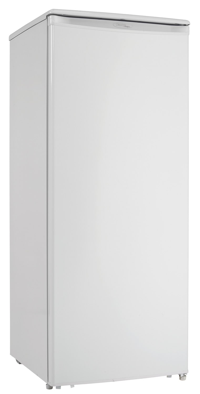 Refrigerators and Freezers - Danby White Upright Freezer (10.1 Cu. Ft.) - DUFM101A1WDD1