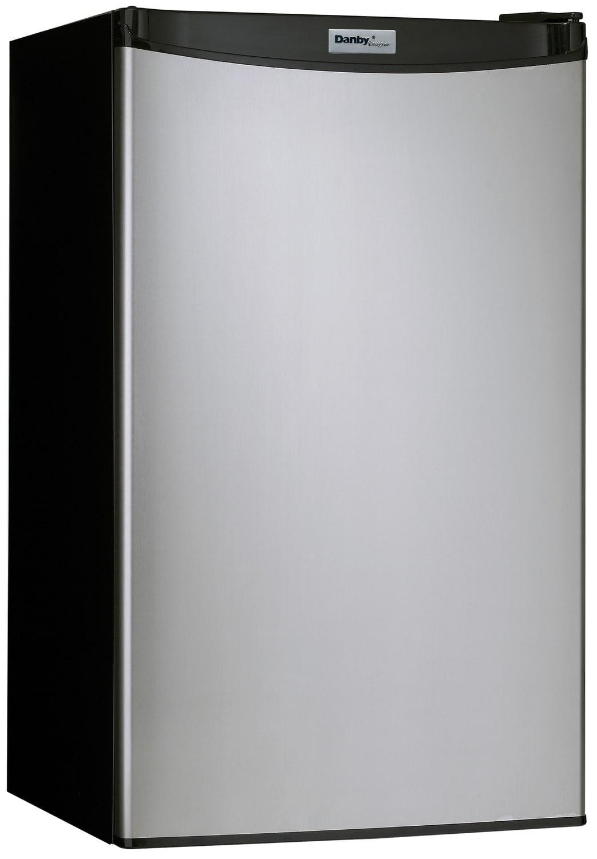 Danby Stainless Steel Compact Refrigerator (3.2 Cu. Ft.) - DCR032A2BSLDD