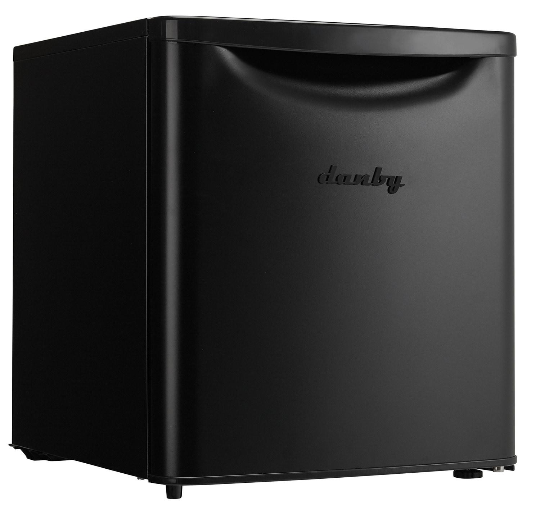 Refrigerators and Freezers - Danby Black Compact Refrigerator (1.7 Cu. Ft.) - DAR017A3BDB