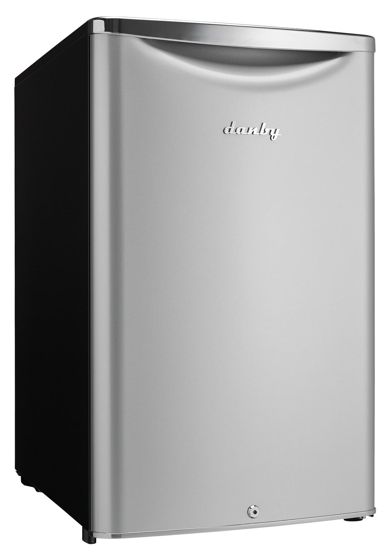 Danby Silver Compact Refrigerator (4.4 Cu. Ft.) - DAR044A6DDB