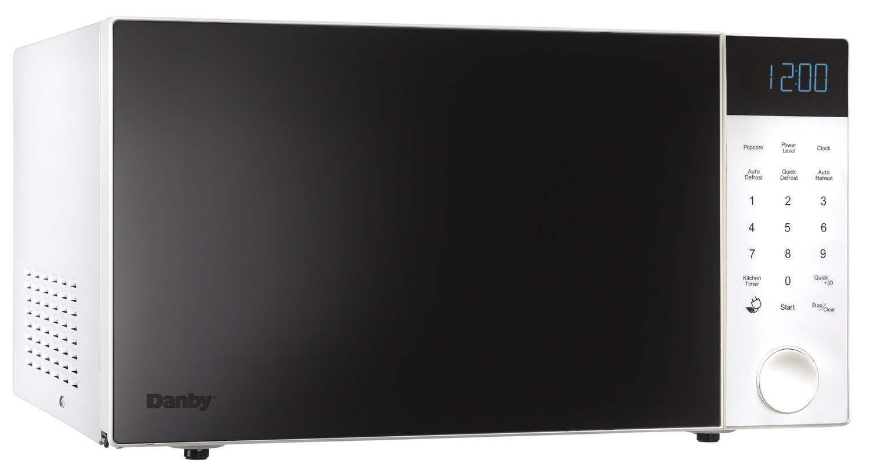 Danby White Countertop Microwave (1.1 Cu. Ft.) - DMW11A4WDB