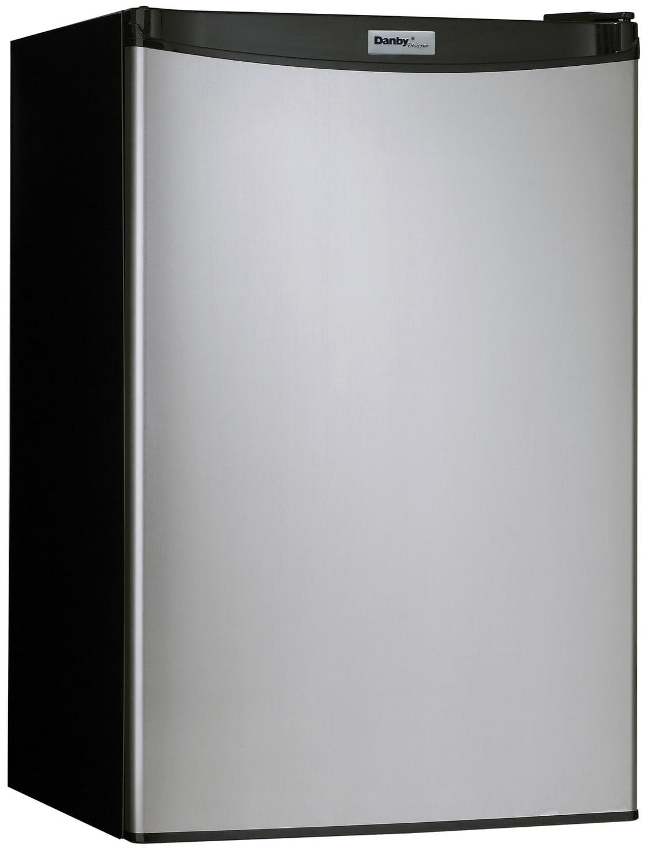 Danby Stainless Steel Compact Refrigerator (4.4 Cu. Ft.) - DCR044A2BSLDD
