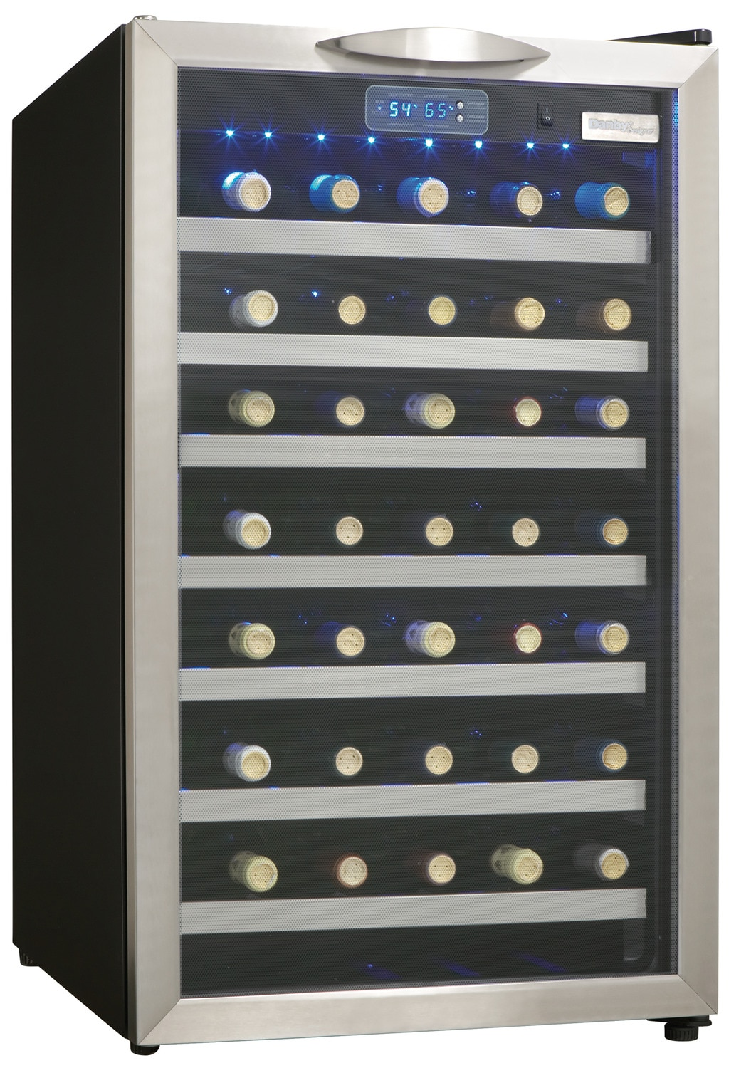 Danby Stainless Steel Wine Cooler (4 Cu. Ft.) - DWC458BLS